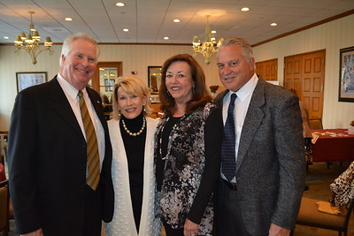 Mike and Nancy Leininger with Sallie and Lynn Fasnacht