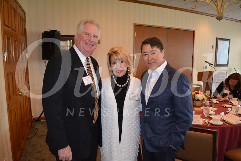 Mike and Nancy Leininger with past CSF President Joel Peterson