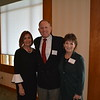 Karen Mathison with past Distinguished Person Award recipients Wes and Jennifer Seastrom