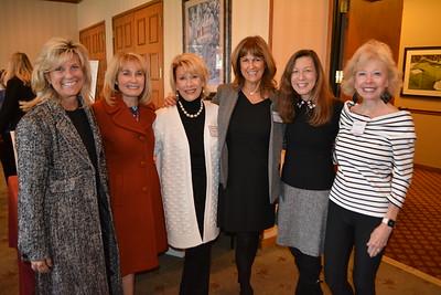 Wendy Sinnette, Vicki Sheff, Nancy Leininger, Suzanne Horne, Linda Hamrick-Morevac and Judi Healey