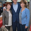 Barbara Marshall with Dave and Julie Battaglia