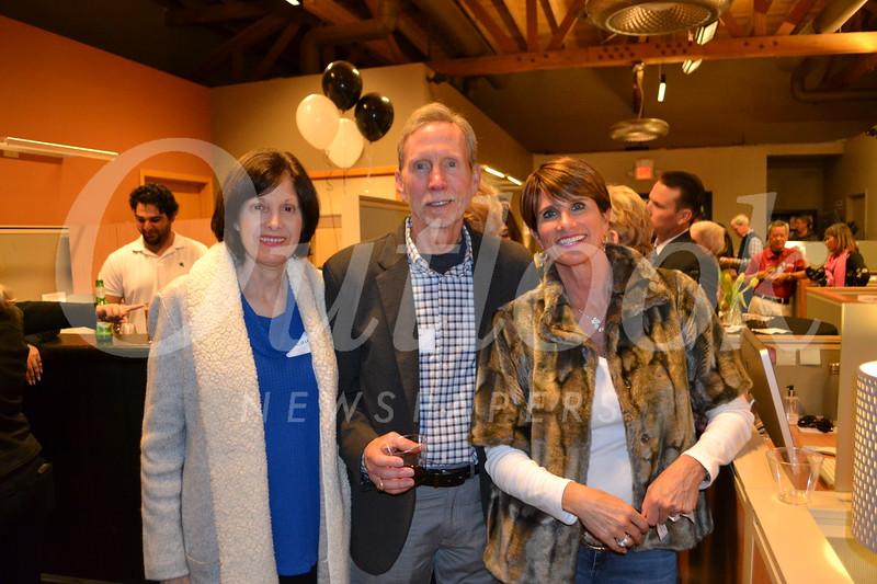 Laura and Scott Van Dellen with Christine Navarro