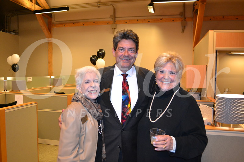 Mary Gant, Mark Perry and Jane Kane