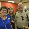 Harriet Hammons, Paula Zweifel and Deputy Eric Matejka