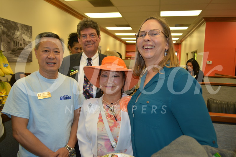 John Su, Mike Perry, Jenny Pass and Mindy Morrison