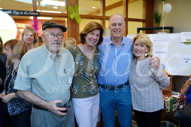 Carl Christenson, Terry and Woody Walker, and Nancy Leininger