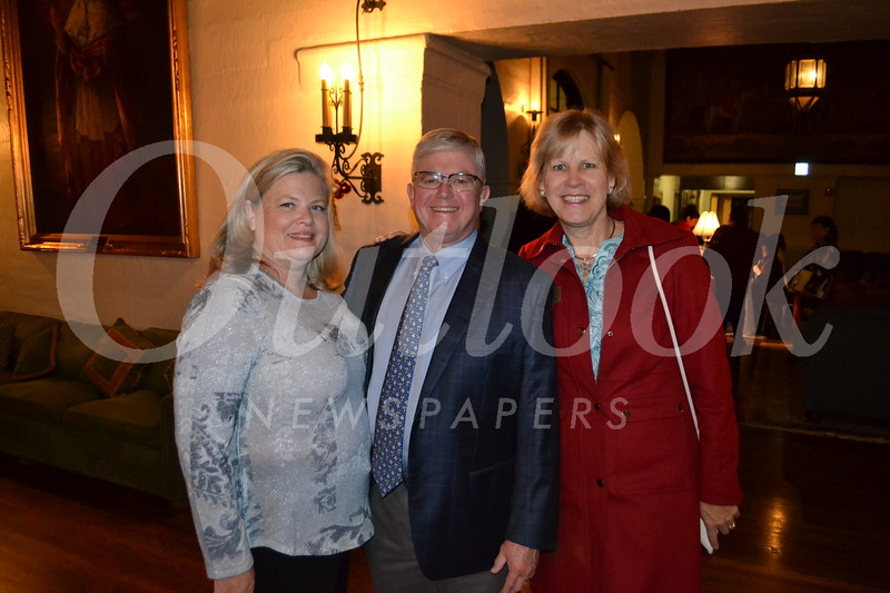 Brenda and Mayor Leonard Pieroni with Carrie Grochow