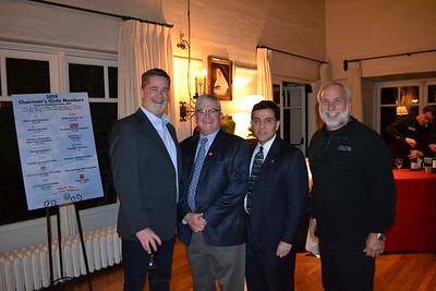 Rick Gunter, Leonard Pieroni, City Manager Mark Alexander and Nick Sarkisian
