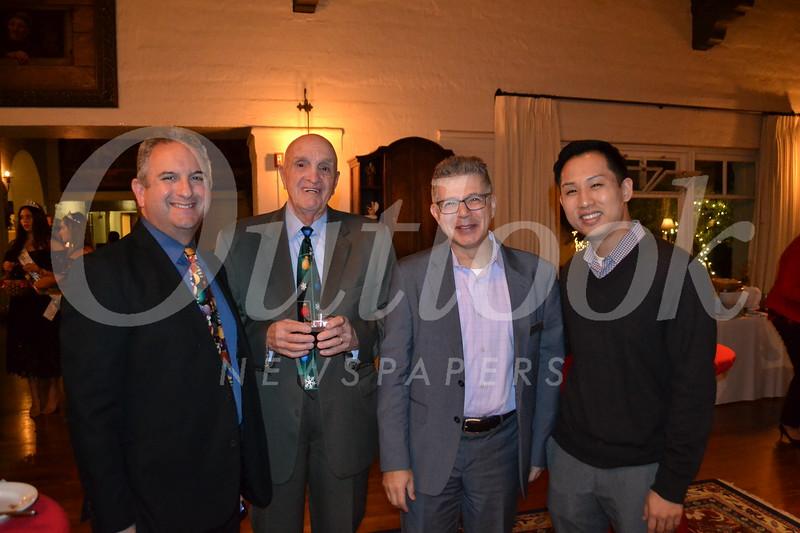 Charles Hirsch, Mike Mahoney, Manny Mashoud and David Kim