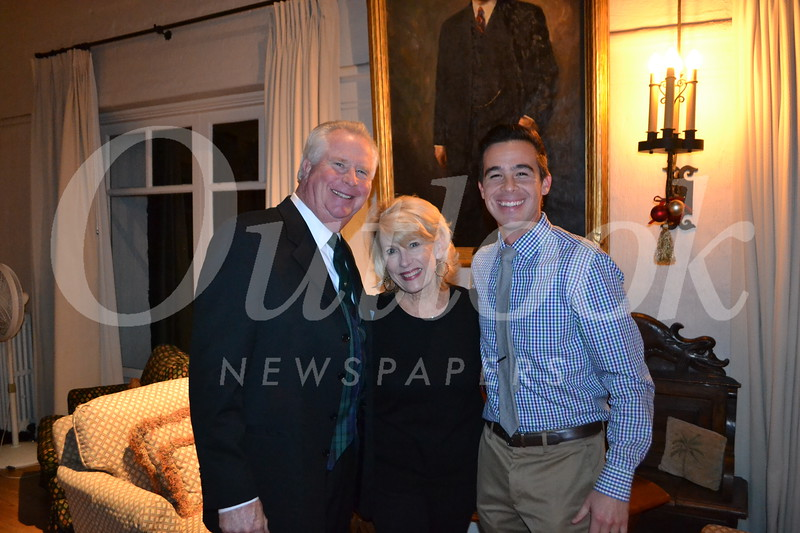 Mike and Nancy Leininger with Rion Zimmer