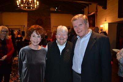 Barbara Marshall, Sister Carolyn McCormack and Rod Essen