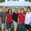 La Cañada Tournament of Roses members John and Nancy Wolhaupter, Andrea Quan, Ann Neilson and Pam Gossoo