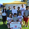 La Cañada High School band and orchestra members were out selling sweet treats. Bela Echternach (front row, from left), Ethan Alvarez-Salazar and Victoria Mulyadi. Back: Christina Melikian, Elise Alvarez-Salazar, Lucas Echternach, Giovanni Ferrer, Zach Northrup and Edrik Alvarez-Salazar.