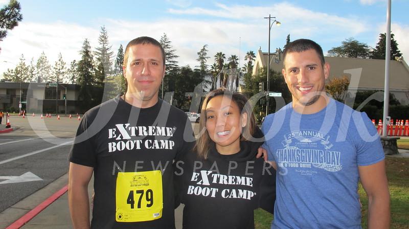 David Gonzalez, Andrea Cortez and Bryan Argott