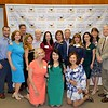 Rita Gooch (front row, from left), Hana Oshima and Alice Perez. Standing: Justin Strassburg, Brenda Gant, Frank Gooch, Analily and Ed Park, Rose Linda Gonzales, President Karen Mathison, Marshall Mathison, Liz Ronnie, Michelle Strassburg, Mary Emily Myers and Phil Wyatt.