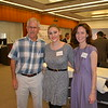 Hillside Executive Director Bob Frank, Alison Kerstiens and Associate Director Cyndi Hatcher