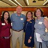 Scholarship chair Rose Linda Gonzales,Wes Seastrom, CSF President Karen Mathison and Mayor Terry Walker