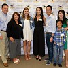 Michael, Michelle and Megan Reilly, Riana, Chris and Royce Lui, and Hana Oshima