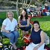 Kim Beattie, Ana Marie Schaefer and Bonnie Marshall