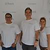 Juan Carlos Argueta, Mark Dilbeck and Sarah Gould