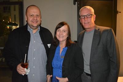 Amir Martin, Sue Wright and Kevin Martin