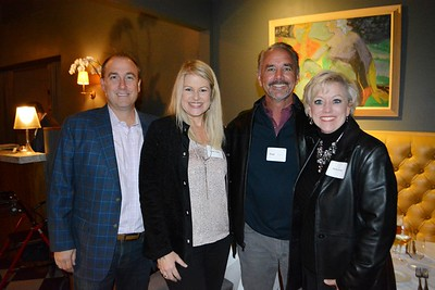 John and Karen Clark with Greg and DeDe Cook