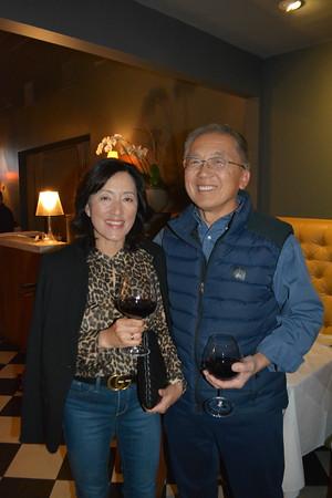 Sandy and Charlie Ahn