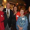 Melissa and David Hotchkin, Caroline Anderson, and Mindy and Gene Stein