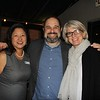 Marilyn Wang with Craig and Melissa Mazin