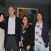 LCFEF President Caroline Anderson (center) and LCFEF Executive Director Marilyn Wang (far right) with Legends Deborah Weirick, Neal Brockmeyer and Brad Schwartz