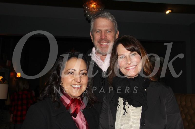 Paris Cohen with Brent and Deborah Weirick