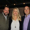 Matt Weber with Karen and John Clark