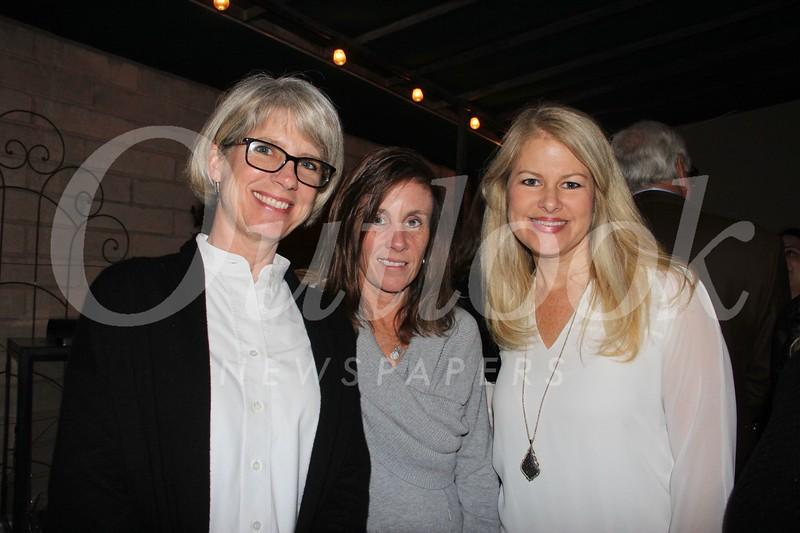Melissa Mazin, Tina Radabaugh and Karen Clark