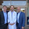 Rob Mahan, Dr. Brian Wilbur and Scott Whitney