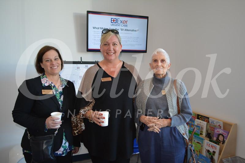 Tina Daley, Nancy Rappard and Joanne Berg