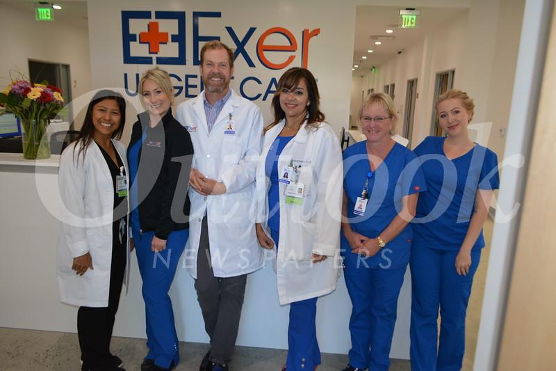Dr. Clairose Retino, Lindseu Moore, Dr. Brian Wilbur, Dr. Asbasia Mikhail. Tammy Worcester and Samantha Na