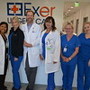 Dr. Clairose Retino, Lindseu Moore, Dr. Brian Wilbur, Dr. Asbasia Mikhail. Tammy Worcester and Samantha Na