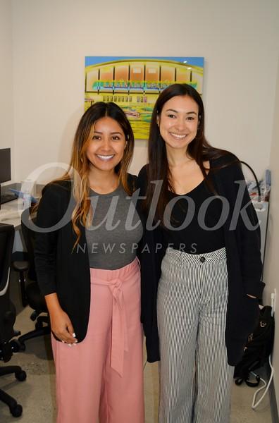 Stephanie Cardenas and Vicky Van Guyse