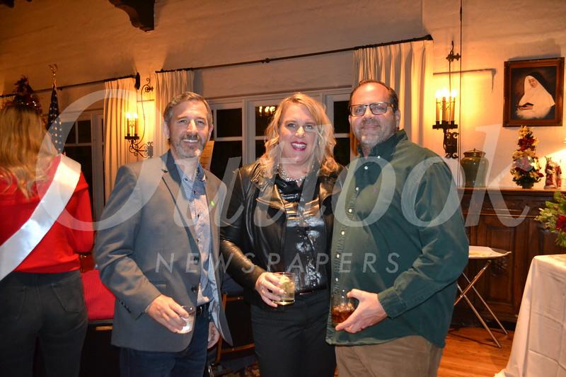 Adam Ralphs with Joy and Bent Hansen