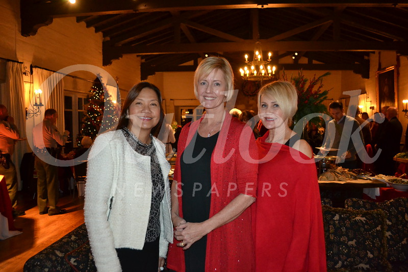 Ladelle Hill, Sue Friedrich and Colleen Cofield
