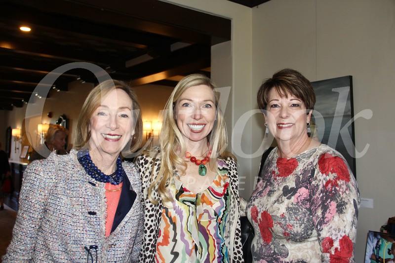 Karen Hopper, Erin Sloan and Barbara Bushnell