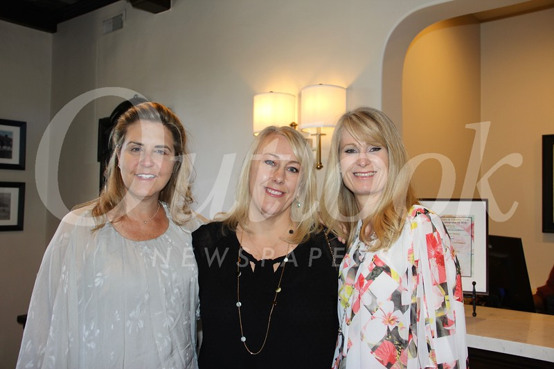 Cheryl Trowbridge, Christie Clarkson and Leanne Forshager