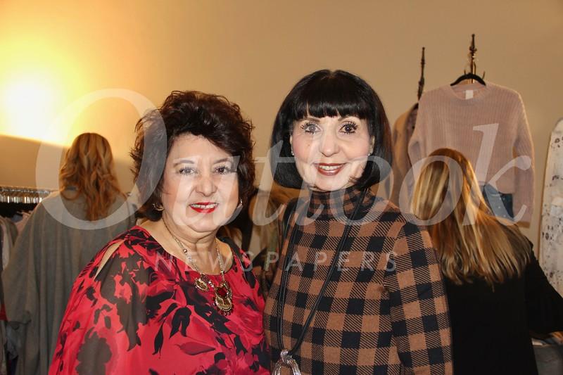 Debra White and Donna Nickoloff