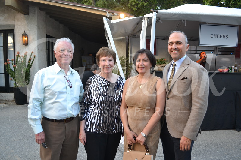 Jim Colbert, Vicki Land, and Maria and Marty Dakessian