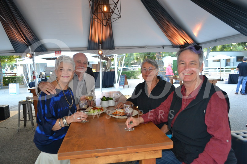 Laurel and Brian Russell, Wendy Hodgin and Rachael Stauffer