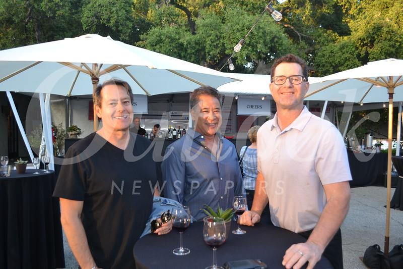 Mike Naples, Roy Shinsato and Steve Miller