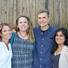 Jill Oliver, Jill and Rick Weinlein and Apala Parikh
