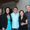 Ellen Portantino, Sara and Steve Ingrassia, and Elizabeth and Erik Landswick