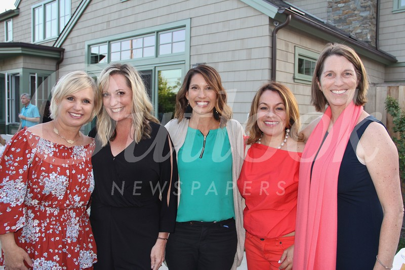 Mindy DiPaolo, Frances Delgatty, Sue Auther, Tamar Tujian and Jennifer Fox