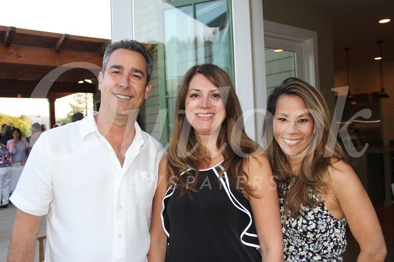 Dave De Angelis, Eileen Stevens and Judy Kolb